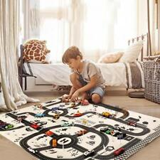Kids Carpet Road Traffic Playmat Rug City Life Great For Playing Cars & Toys