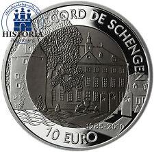 Silber Münzen aus Luxemburg
