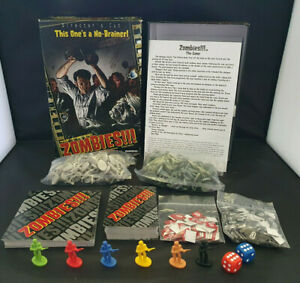 Zombies!!! Director's Cut Second Edition Board Game Fully Complete