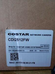 NIB Costar CDI2512FW Camera