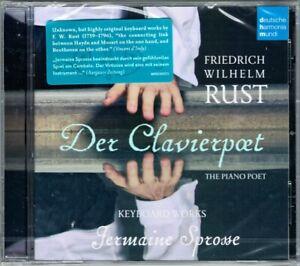 Friedrich Wilhelm RUST 1739-1796 Der Clavierpoet JERMAINE SPROSSE Clavichord CD