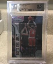 2016-2017 PRIZM VINCE CARTER BGS 9.5 Sky's The Limit *MOJO REFRACTOR SP #/25*
