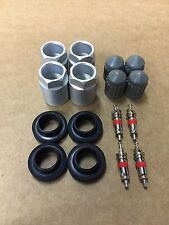 Set of Four Tire Pressure Sensor Rebuild TPMS Service Pack Kits FREE TRACKING