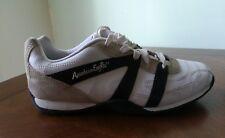 American Eagle Mens Athletic Shoes color white tan black Size 6