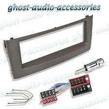 Fiat Grande Punto Black Radio / Stereo Facia / Fascia Fitting Kit Adaptor