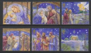 Guernsey - 2002, Christmas set - MNH - SG 972/7