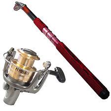 Kit Attrezzatura Pesca Mulinello DynaSun HF540I 5 Cuscinetti Canna 3007 3,00 mt