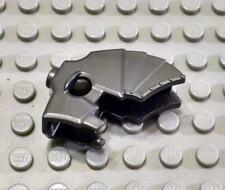 LEGO Pearl Dark Gray Horse Animal Unicorn Castle Battle Helmet