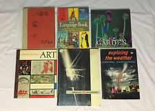 Lot of 6 Antique Vintage Books Illustrations History LIFE Photographs 1951-2000