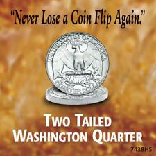 NEW American Coin Treasures Washington Quarter Two Sides Tails 13685