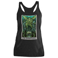 The Hierophant Tarot Card Tank Top Women Cthulhu Gothic Occult Horror Clothing