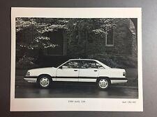 1989 Audi 100 Sedan B&W Press Photo, Foto RARE!! Awesome L@@K