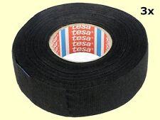 0,24 Euro/m  3 pcs. 51608 TESA KFZ Gewebeband mit Vlies 25mm x 25m PET-Wolle #WP