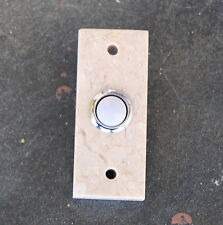 Unique Natural Travertine Door Bell Wired Doorbell Button Push Surround doorbell