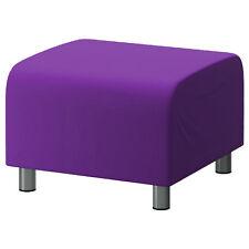 violet coton personnalisé revêtement Pour Ikea Klippan repose-pieds