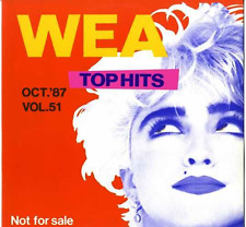 Madonna - Who's That Girl (Wea Top Hits Vol. 51) Japan Promo only Vnyl Lp