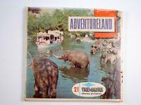 View-Master 3 reel set Disneyland Adventureland California A177 - DT