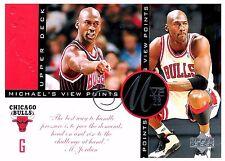 Michael Jordan 1997 Upper Deck Viewpoints MVP23 Oversize Basketball Card VP4