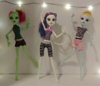 Monster High💥Fangtastic💥 Fitness Lagoona, Catrine, Venus (3 Doll set) HTF