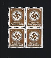 MNH  LARGE WWII emblem stamp block, 1942, PF03, Third Reich Germany / MNH Block
