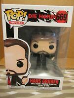 Hans Gruber Multi VINILE Funko 34869 POP DIE Hard