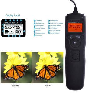 Time Lapse Intervalometer Remote Timer Shutter For SONY ALPHA DSLR Camera