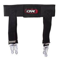 "New DR Ice Hockey Garter Belt senior Large Waist size 44""-48"" LG black adult"