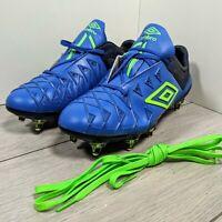 Umbro UX-1 Pro SG football boots #pp UK 7 blue green