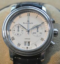BLANCPAIN Villeret Chronograph Automatik WG 750 Großdatum 119