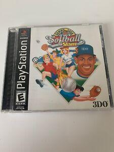 Sammy Sosa Softball Slam (Sony PlayStation 1, 2000) PS1 CIB Complete