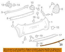 Scion TOYOTA OEM 12-15 iQ-Bumper Trim-Molding Trim 5275174010