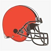 Cleveland Browns #N NFL Logo Die Cut Vinyl Decal Buy 1 Get 2 FREE