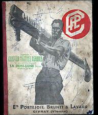 """CIVRAY (86) USINE / CATALOGUE de MATERIEL AGRICOLE """"PORTEJOIE , BRUNET & LAVAUD"""""""