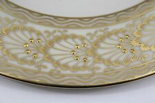 Set of 11 LENOX Cream and Gold Presidential Service Dinner Plates W 313 A MINT