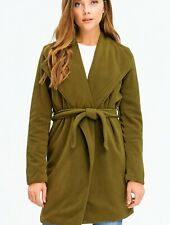 STANZINO Womens Green Xlarge Wrap Fleece Jacket Coat FASHION HAVEN