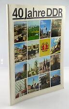 Heft: 40 Jahre DDR 1989 zusammengestellt von Abt. des Zentralkomitees SED, so327