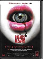 DVD ZONE 2--THE THEATRE BIZARRE--BUCK/GIOVINAZZO/GREGORY/HUSSAIN/KASTEN