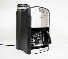 BEEM Fresh Aroma Perfect Thermostar Kaffeemaschine Mahlwerk LCD Display Silber