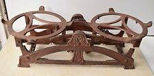Antique Collectible Authentic Iron Forged Scales Mefa Marked Art Decoration Nice