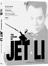 Legend of Jet Li Collection (Black Mask/Fearless/Fist of Legend/Hero)(Blu-ray)
