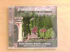 CD / JOAQUIN RODRIGO / MUSICA PARA BANDA / ENRIQUE GARCIA ASENSIO DIRECTOR /NEUF