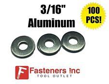 "(Qty 100) 3/16"" Aluminum Pop Rivet Washers Blind Rivet Back Up Washers"
