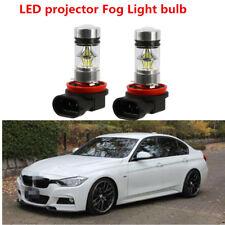 2 x 60W LED Fog Lights 12 SMD For BMW E90 328 335i 325xi H11 6000k White 5600LM