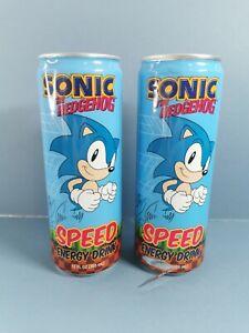 SONIC The Hedgehog Energy Soda Drink - USA Exclusive READ DESCRIPTION