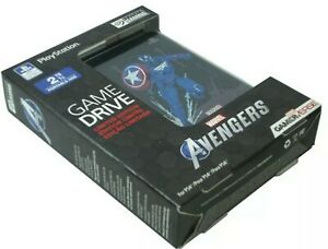 Avengers PS4 Playstation 4 Game Drive 2TB External Limited Captain America New