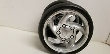 Combi Dual Double Stroller TS-5DX Twin Sport DX Front Wheel Tire Replacement.