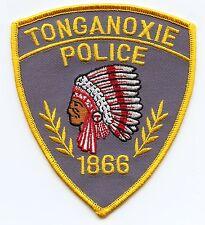 TONGANOXIE KANSAS KS indian POLICE PATCH