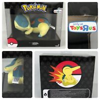 Pokémon Sleeping Cyndaquil Plush Toy Tomy Authentic Toys R us Exclusive New