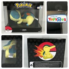 Pokémon Sleeping Cyndaquil Plush Toy Tomy Authentic Toys R us Exclusive New