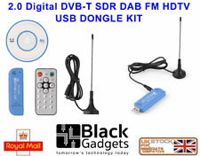 software defined radio USB  Dongle RTL2832 +R820T RTL-SDR Receiver Tuner Set
